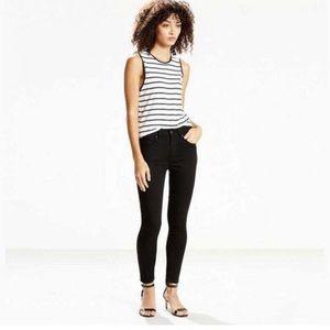 Levi's | 721 High Rise Skinny Black Tall 27x30